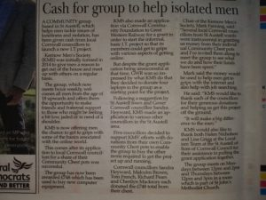 St Austell Voice Article
